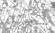 Old Map of Stansted, 1895