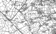 Old Map of Stanton, 1900