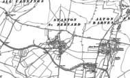 Old Map of Stanton St Bernard, 1899