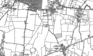 Old Map of Stanwell, 1912 - 1913