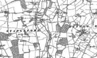 Old Map of Stapleford, 1897
