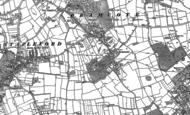 Old Map of Stapleford, 1899