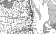 Old Map of Starcross, 1888 - 1904