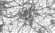 Old Map of Staveley, 1876 - 1897