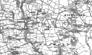 Old Map of Stawley, 1887 - 1903