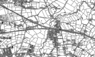 Old Map of Stechford, 1886 - 1903