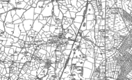 Old Map of Steel Heath, 1879 - 1899