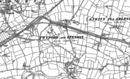 Old Map of Stenson, 1881 - 1899