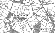 Old Map of Steppingley, 1881 - 1882