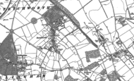 Old Map of Stetchworth, 1901
