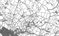 Old Map of Stockwell Heath, 1881 - 1882