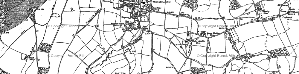 Old map of Wick in 1902