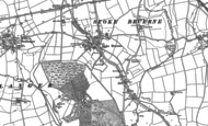 Old Map of Stoke Bruerne, 1883 - 1899