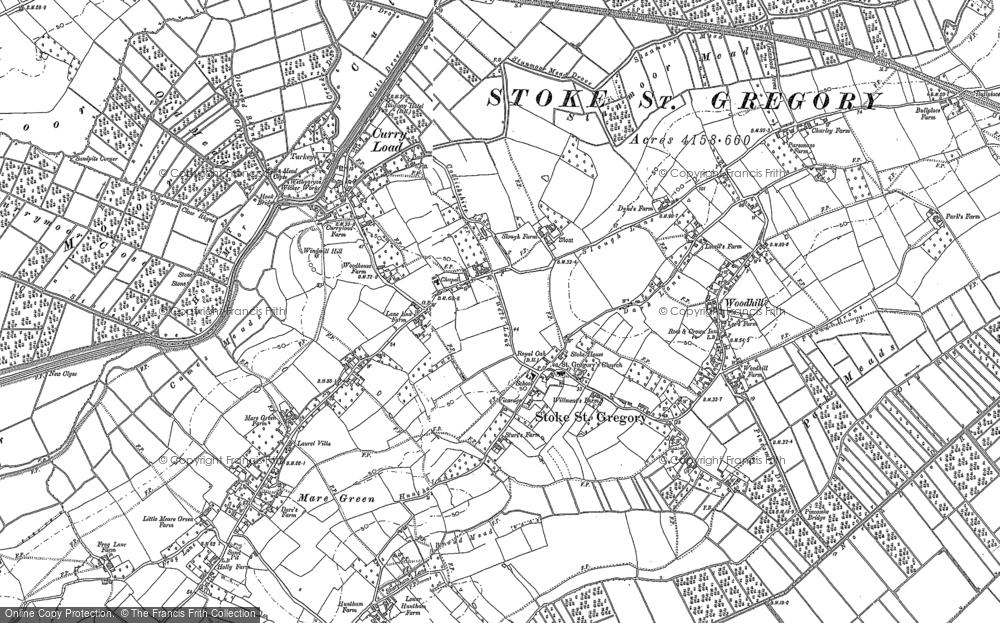 Stoke St Gregory, 1886