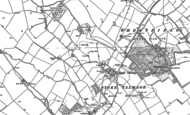 Old Map of Stoke Talmage, 1897