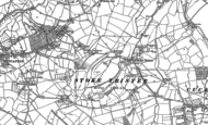 Old Map of Stoke Trister, 1885 - 1902