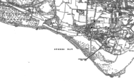 Old Map of Stokes Bay, 1907