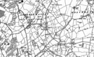 Old Map of Stondon Massey, 1895