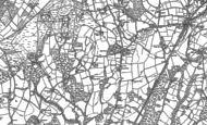 Old Map of Stone Cross, 1897