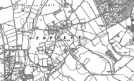 Old Map of Stopsley, 1879 - 1922