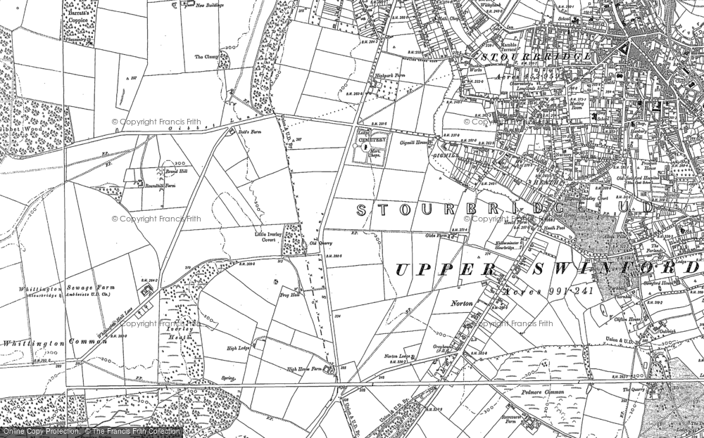 Old Maps of Stourbridge Francis Frith