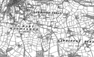 Old Map of Stourscombe, 1882 - 1883