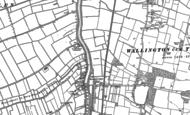 Old Map of Stow Bridge, 1884 - 1886