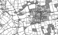 Old Map of Stowlangtoft, 1883