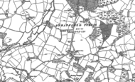 Old Map of Stratfield Turgis, 1894