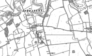 Old Map of Streatley, 1881 - 1899