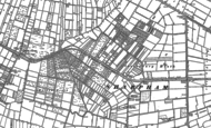 Old Map of Street Heath, 1884 - 1885
