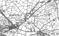 Old Map of Streethay, 1882