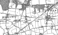 Old Map of Strettington, 1896