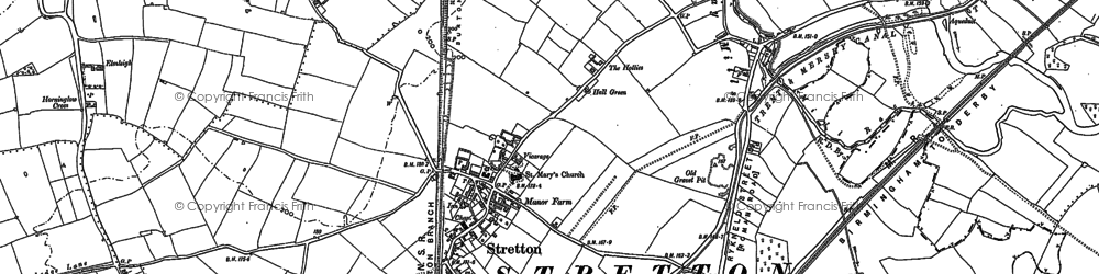 Old map of Wetmore in 1882