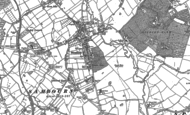 Old Map of Studley, 1885 - 1903