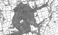 Old Map of Studley Park, 1890 - 1908