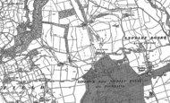 Old Map of Studley Royal, 1890 - 1908