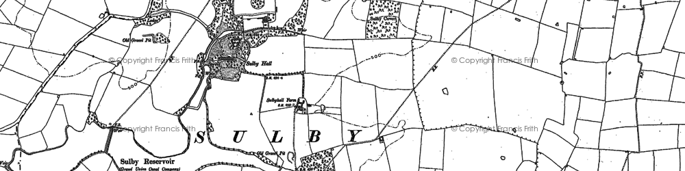 Old map of Wrongs, The in 1899