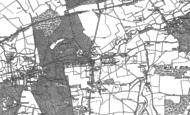 Old Map of Sundridge, 1907