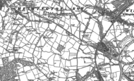 Old Map of Sunny Brow, 1896