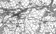 Old Map of Sunset, 1902