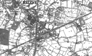 Old Map of Sutton, 1891 - 1892