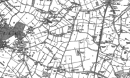 Old Map of Sutton Manor, 1891 - 1892