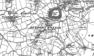 Old Map of Sutton Montis, 1885