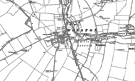 Old Map of Sutton Scotney, 1894