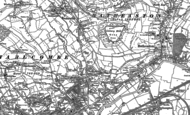 Old Map of Swainswick, 1902
