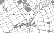 Old Map of Swallow, 1887