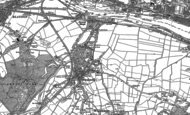Old Map of Swalwell, 1895 - 1914