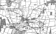 Old Map of Swannington, 1882 - 1885