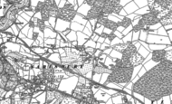 Old Map of Swanwick, 1895 - 1896